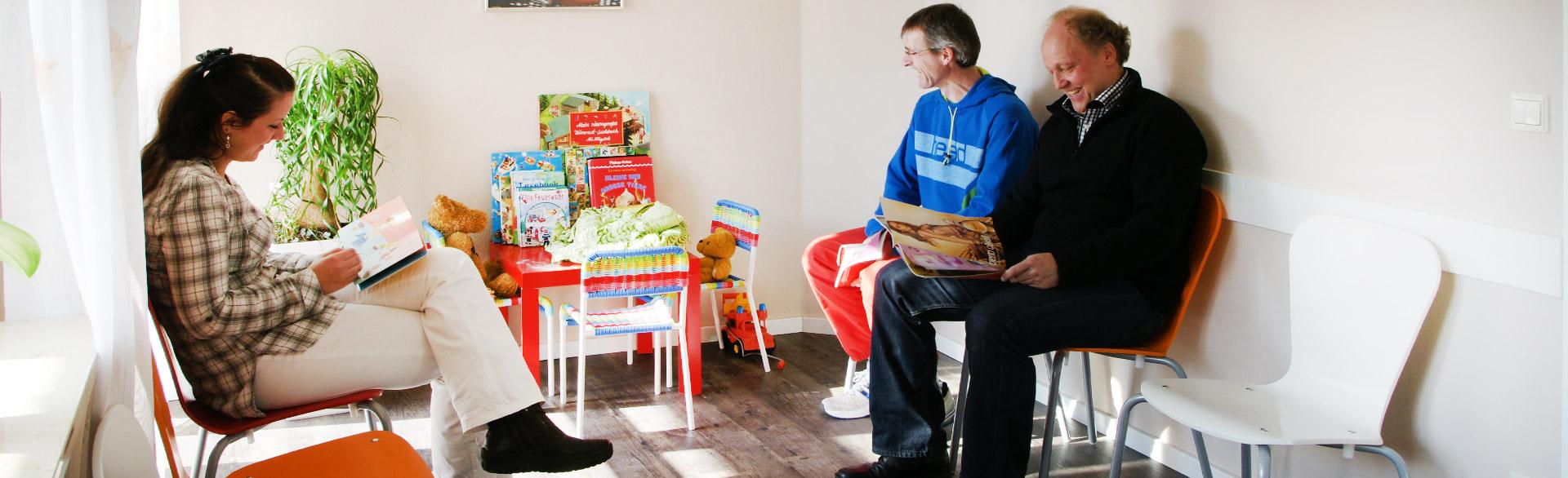 Wartezimmer Hausarztpraxis Wendelstein